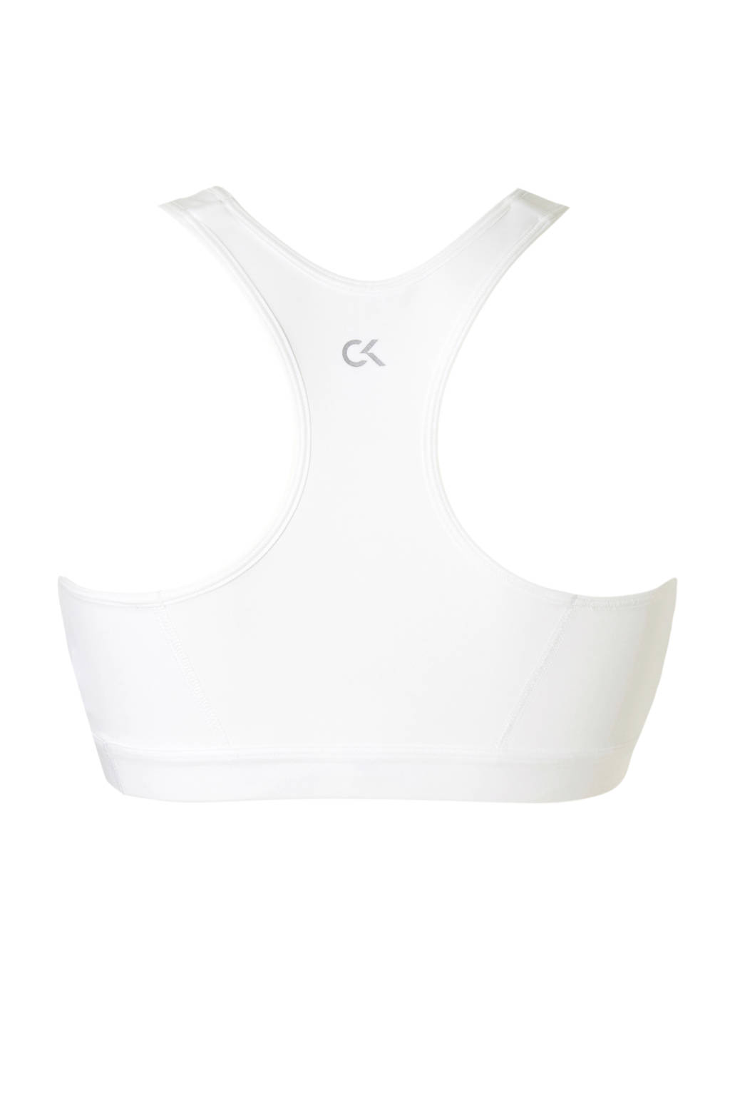 Calvin Klein Performance Level 1 sportbh wit, Wit