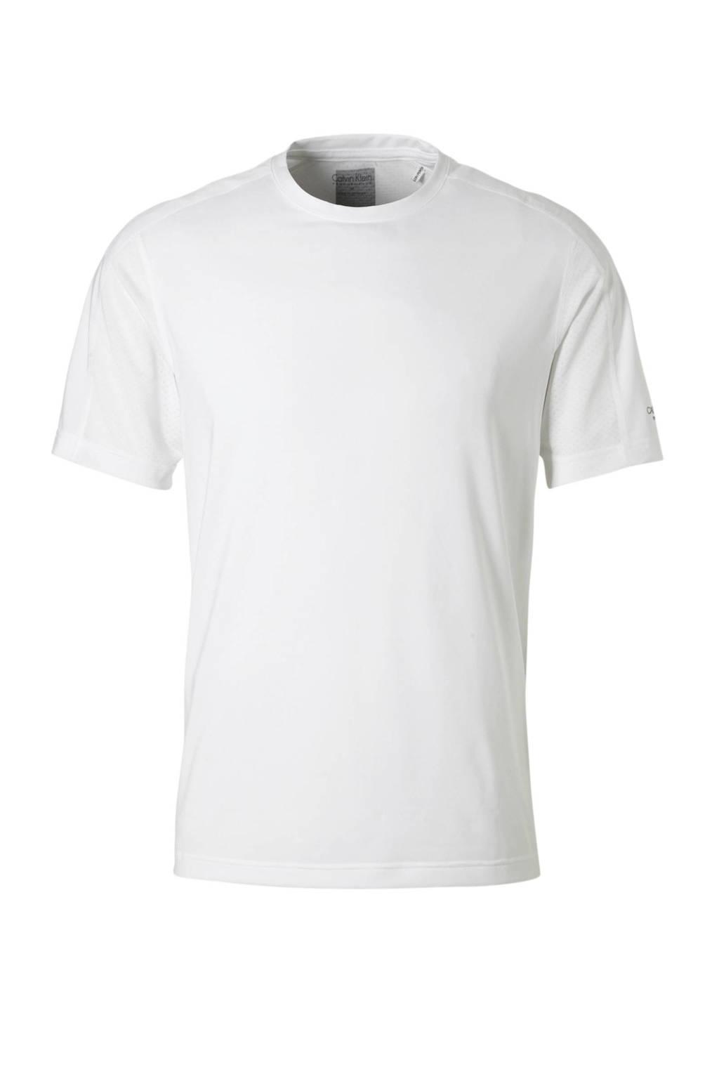 Calvin Klein Performance   T-shirt wit, Wit