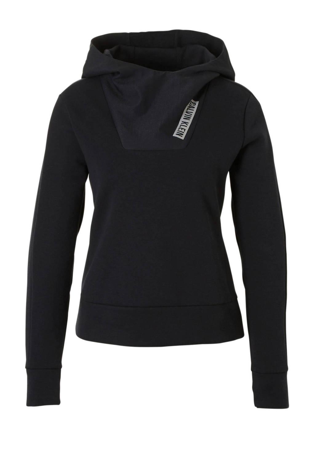 Calvin Klein Performance hoodie zwart, Zwart