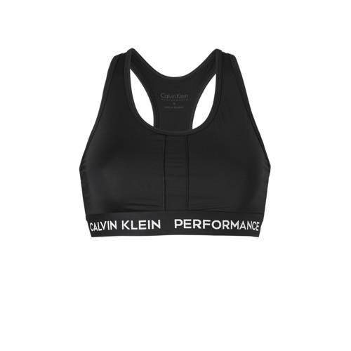 Calvin Klein Performance sportbh zwart kopen