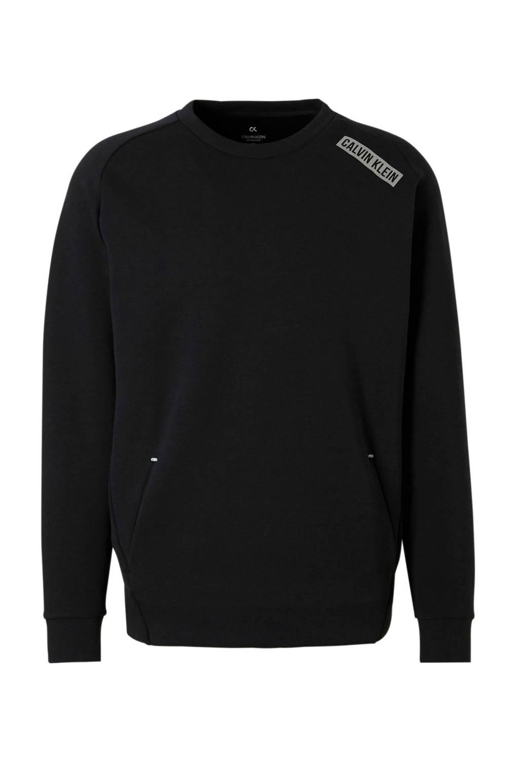 Calvin Klein Performance   sweater zwart, Zwart