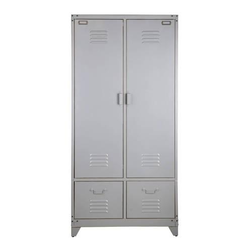 vtwonen Safe Lockerkast Metaal Zilvergrijs