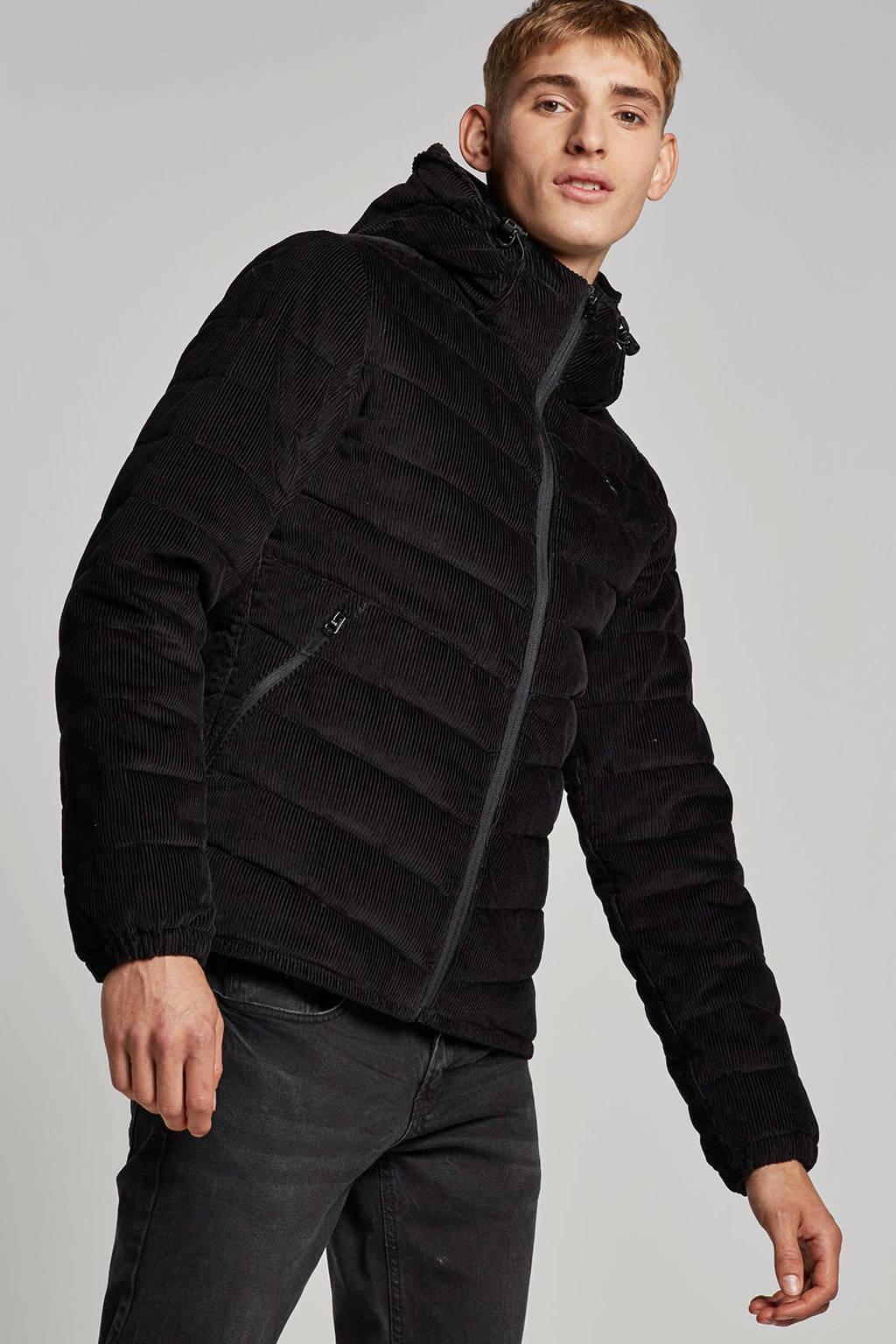 G-Star RAW corduroy jas, Zwart