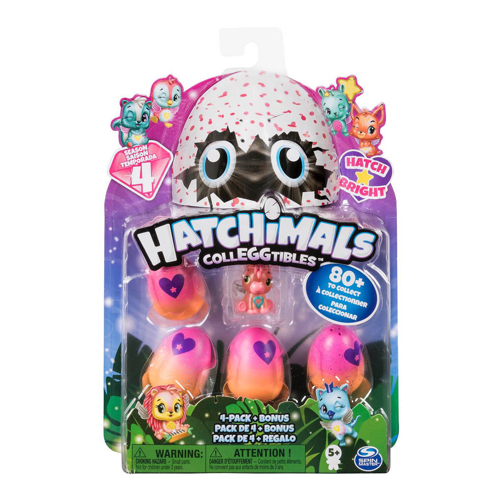 Hatchimals  Colleggtibles 4 pack - seizoen 4