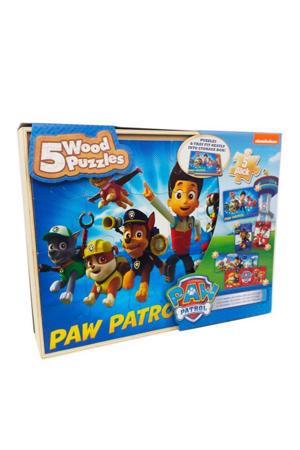 box houten legpuzzel 80 stukjes