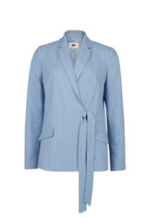WE Fashion gestreepte blazer blauw (dames)