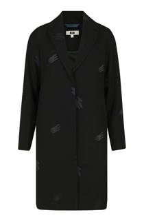 WE Fashion coat met wol zwart (dames)