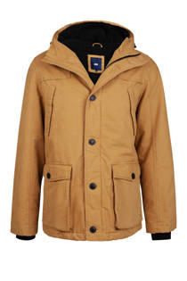 WE Fashion winterjas camel (heren)