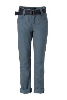 Here & There regular fit broek blauw