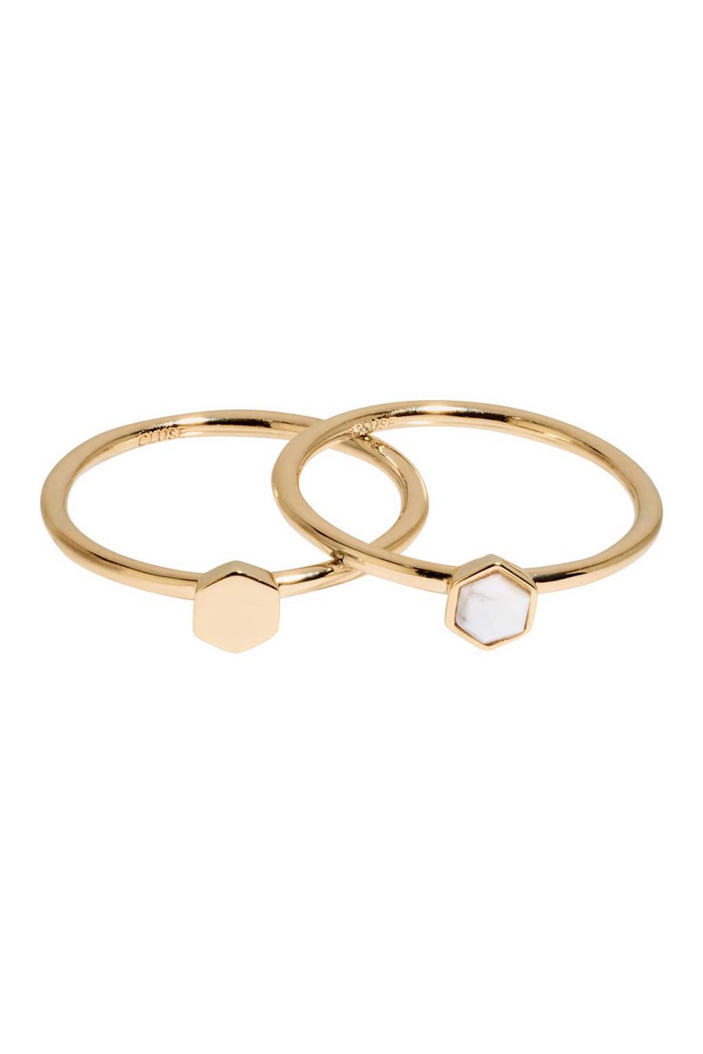CLUSE ring - CLJ41001, Goudkleurig