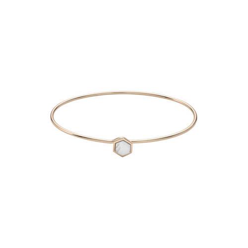 CLUSE-Armbanden-Idylle Marble Hexagon Bangle Bracelet-Goud