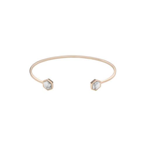 CLUSE-Armbanden-Idyll Hexagons Open Cuff Bracelet-Goud