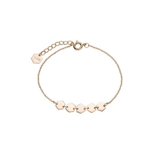 CLUSE-Armbanden-Essentielle Hexagons Chain Bracelet-Goud