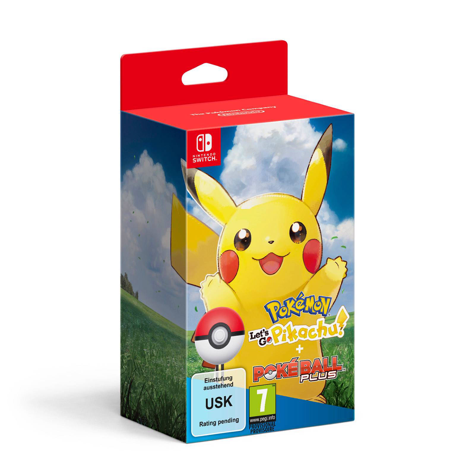 Let's Go Pikachu! + Poké Ball (Nintendo Switch)