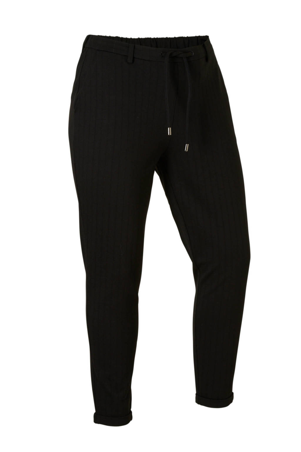 Zizzi cropped broek, Zwart