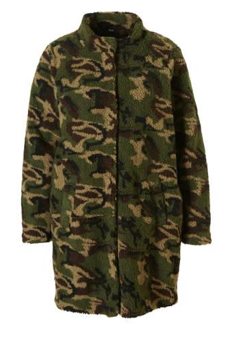 teddy jas met camouflage print