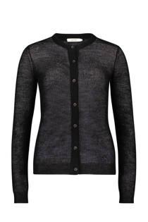 Sissy-Boy vest met mohair zwart (dames)