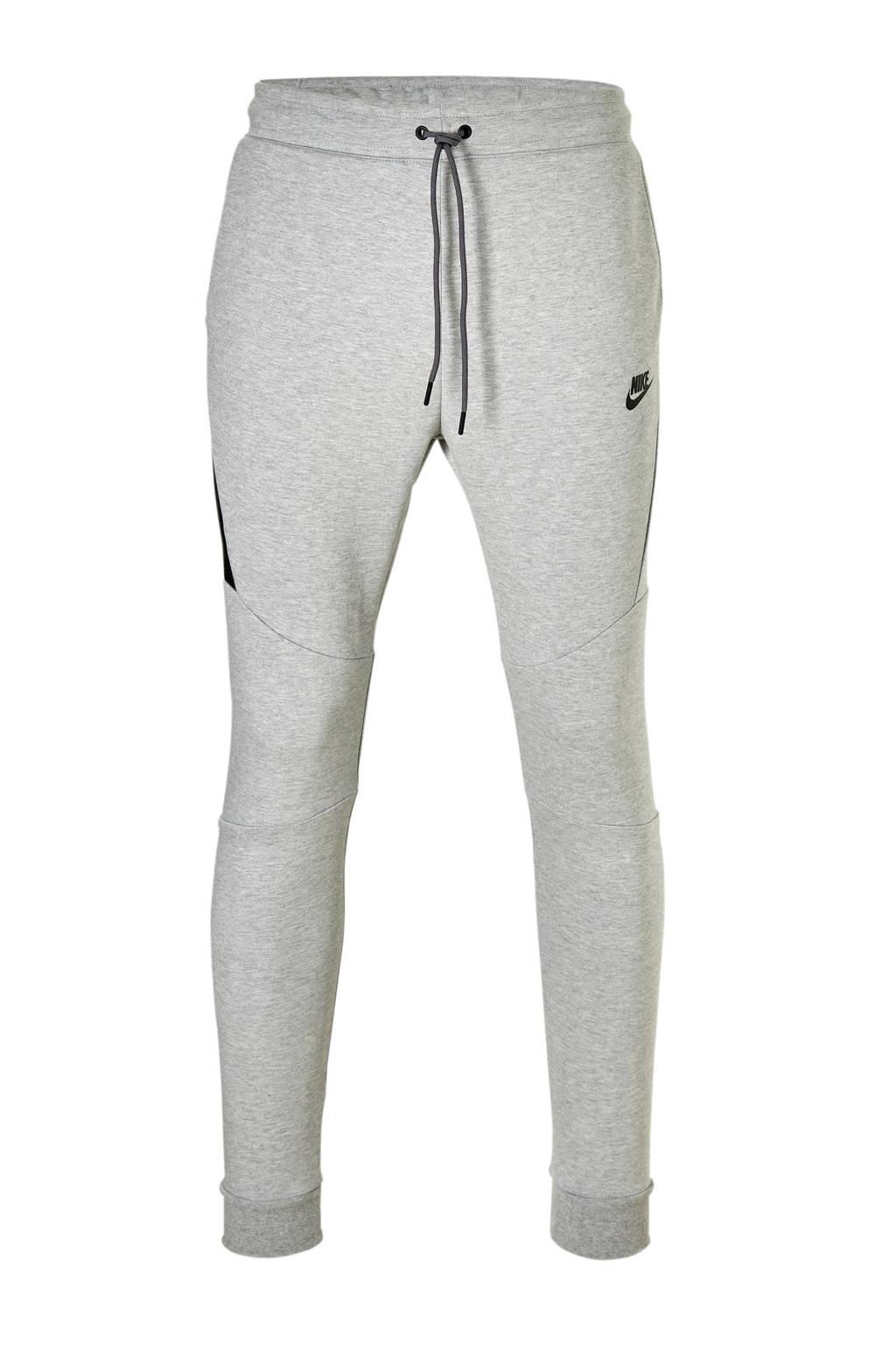 Nike Tech Fleece joggingbroek, Grijs melange