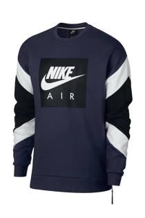 Nike   sweater donkerblauw (heren)