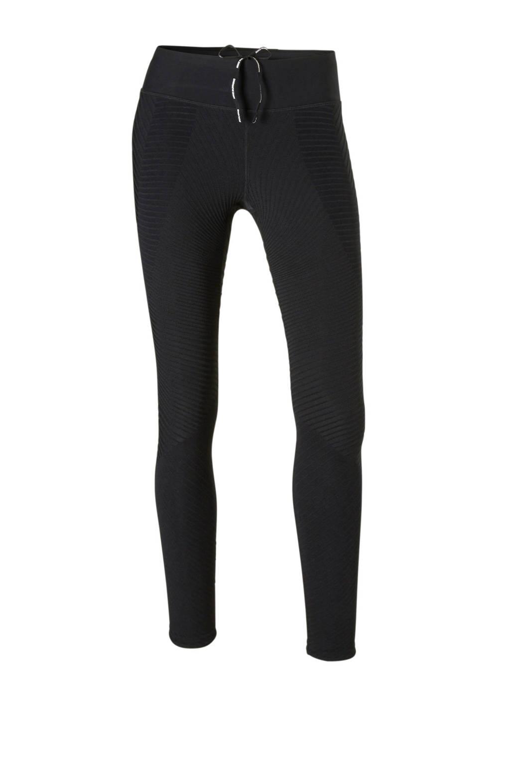 Nike 7/8 hardloopbroek black, Zwart