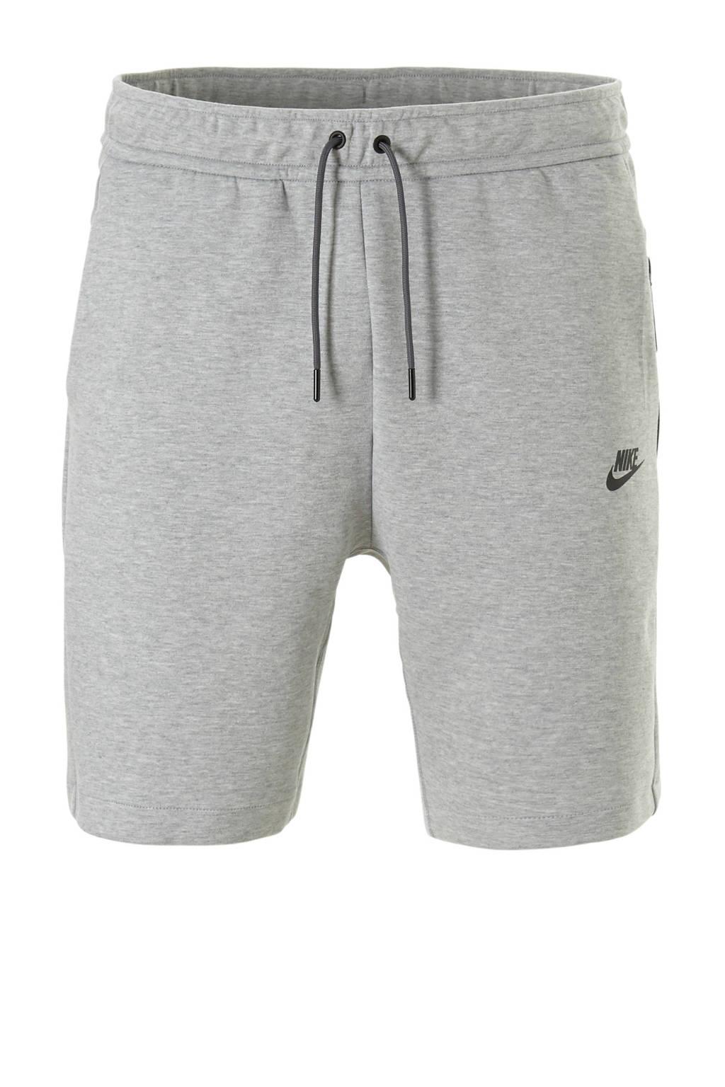 Nike   Tech Fleece short, Grijs