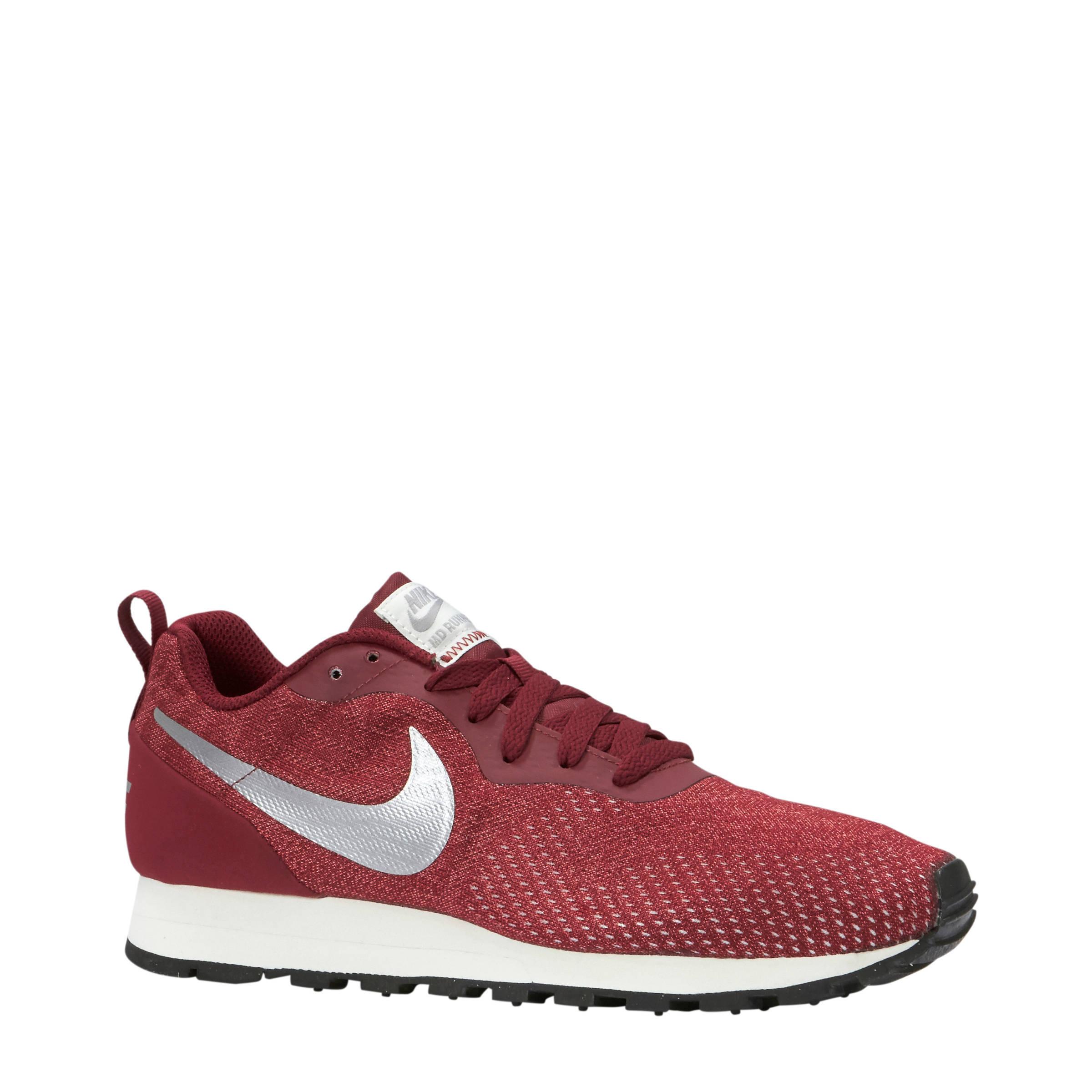 cfae3cd6fea Nike MD Runner 2 Eng Mesh sneakers donkerrood | wehkamp