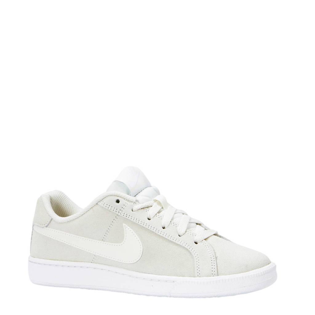 Nike  Court Royale Premium suède sneakers gebroken wit, Gebroken wit