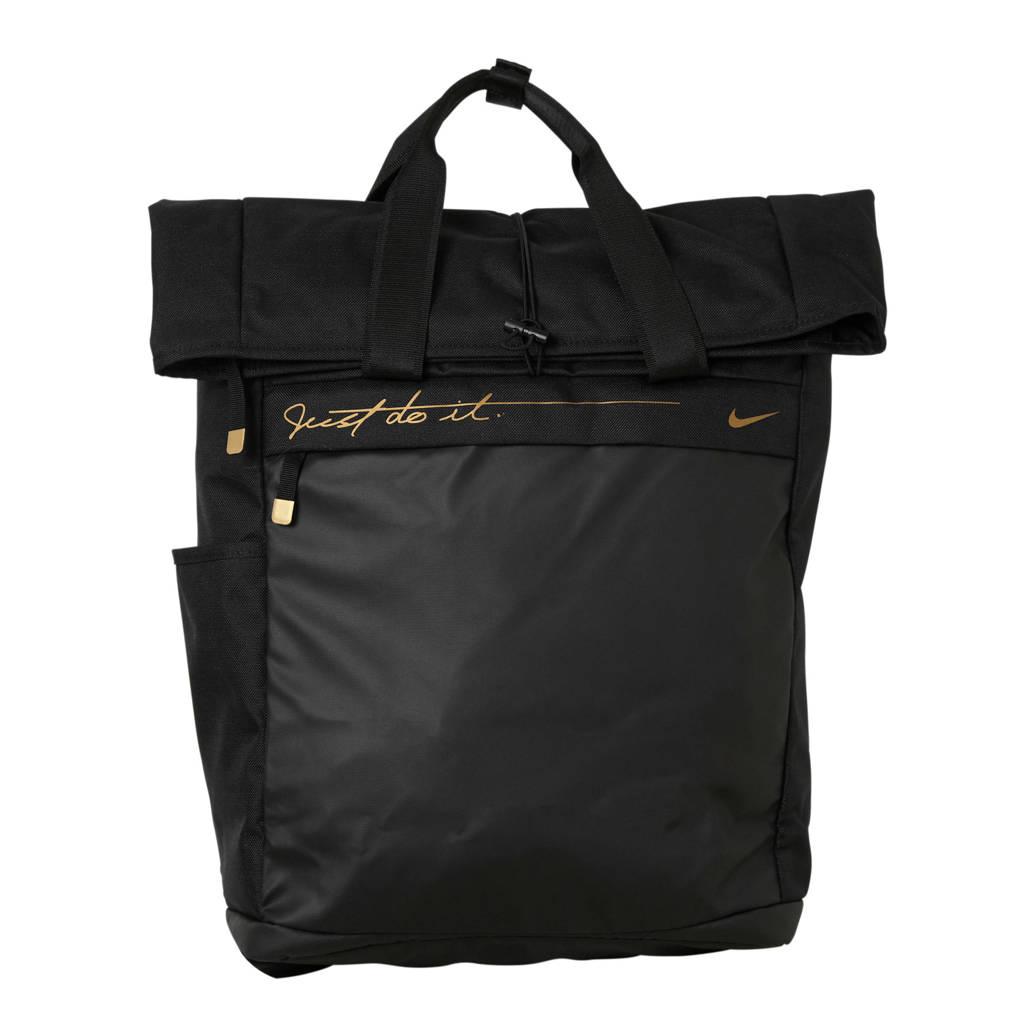 Nike  rugzak zwart, Zwart/goud