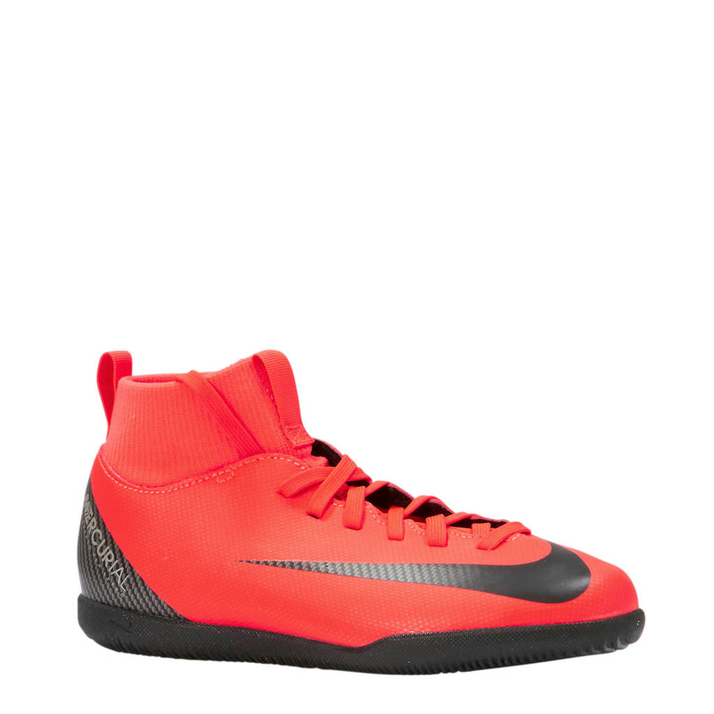 Nike Jr Mercurial Superfly 6 Club CR7 IC zaalvoetbalschoenen koraalrood, Koraalrood
