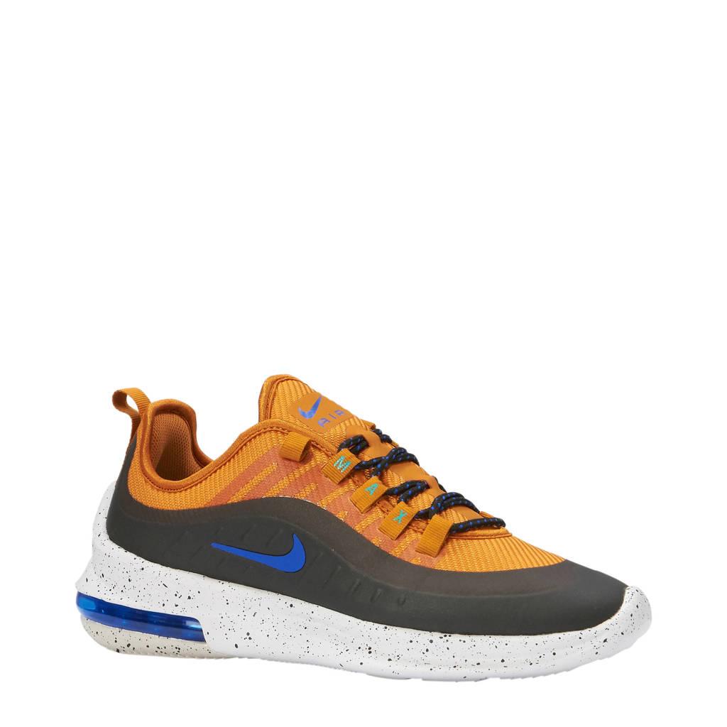 Nike  Air Max Axis Premium sneakers, Donkerblauw/okergeel
