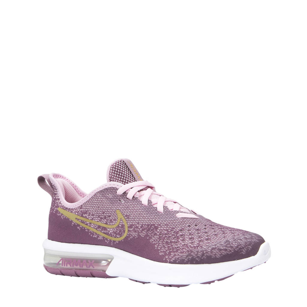 Nike  Air Max Sequent 4 (GS) sneakers paars, Paars/roze