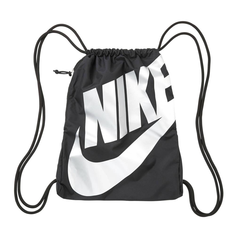 Nike   sporttas zwart, Zwart/zilver
