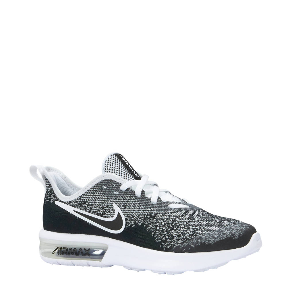 675ede7ac03 Nike Air Max Sequent 4 sneakers, Zwart/wit