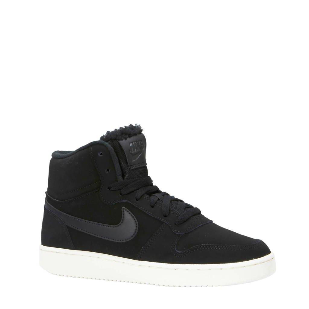 Nike  Ebernon Mid SE sneakers zwart, Zwart