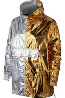 Nike anorak goud/zilver (dames)