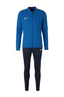 Nike   trainingspak blauw (heren)