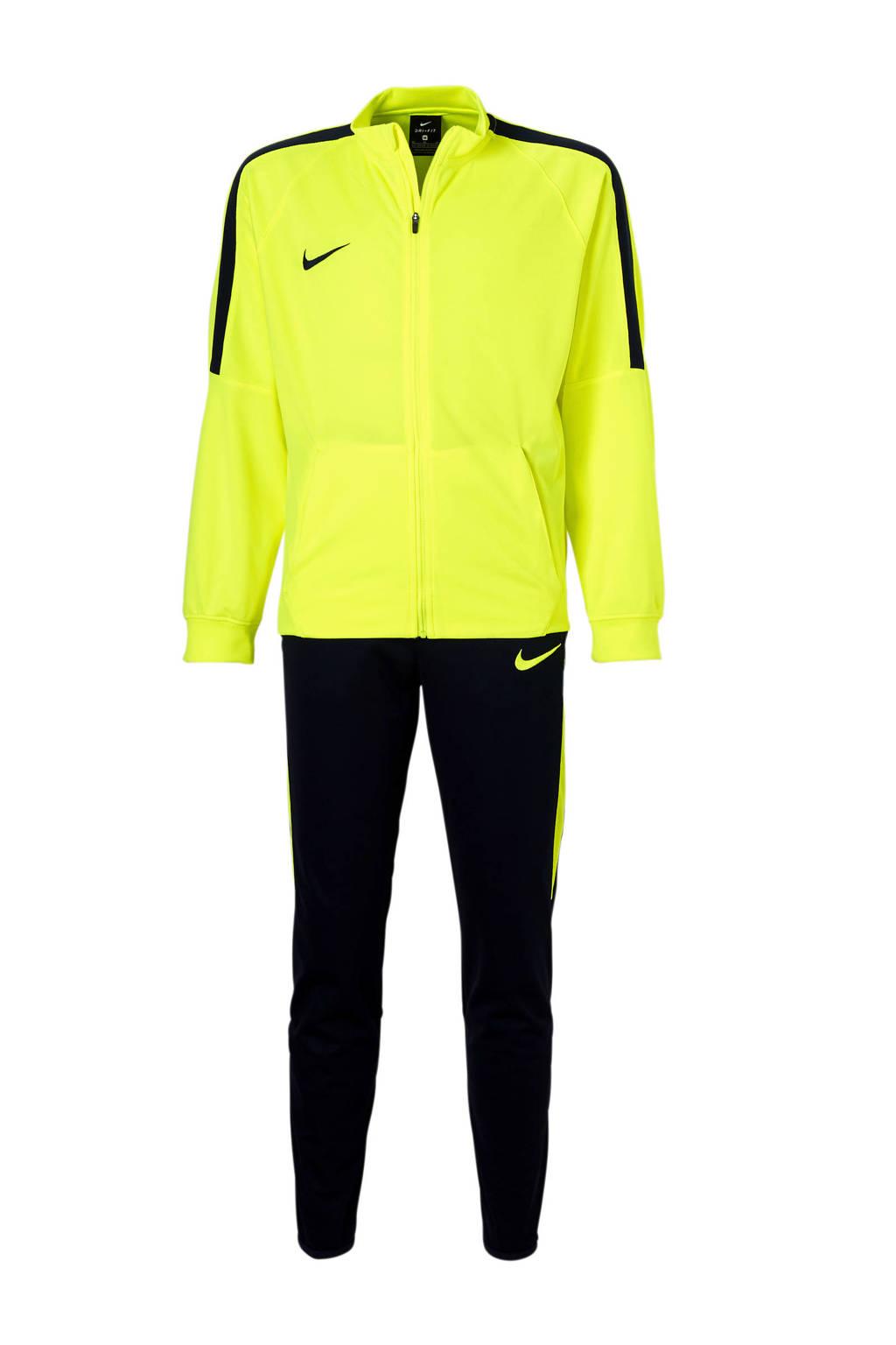 Nike   trainingspak geel/donkerblauw, Geel/donkerblauw
