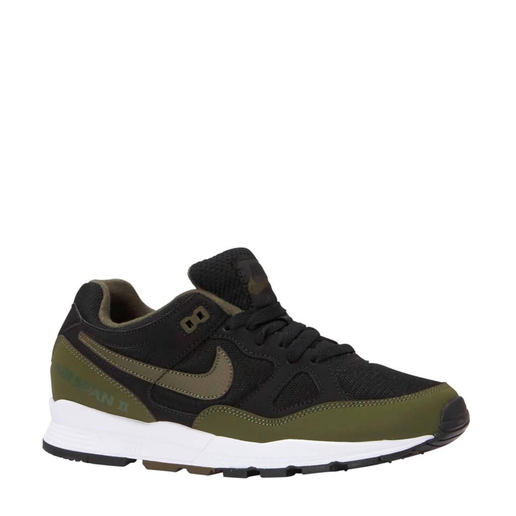 Nike  Air Span II sneakers donkerblauw/olijfgroen, Donkerblauw/olijfgroen