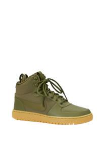 Nike Ebernon Mid Winter sneakers olijfgroen (heren)