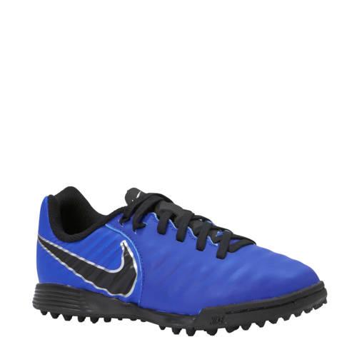 Jr Legend 7 Academy TF voetbalschoenen blauw-zwart