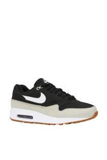 Nike Air Max 1 sneakers zwart/ecru (heren)
