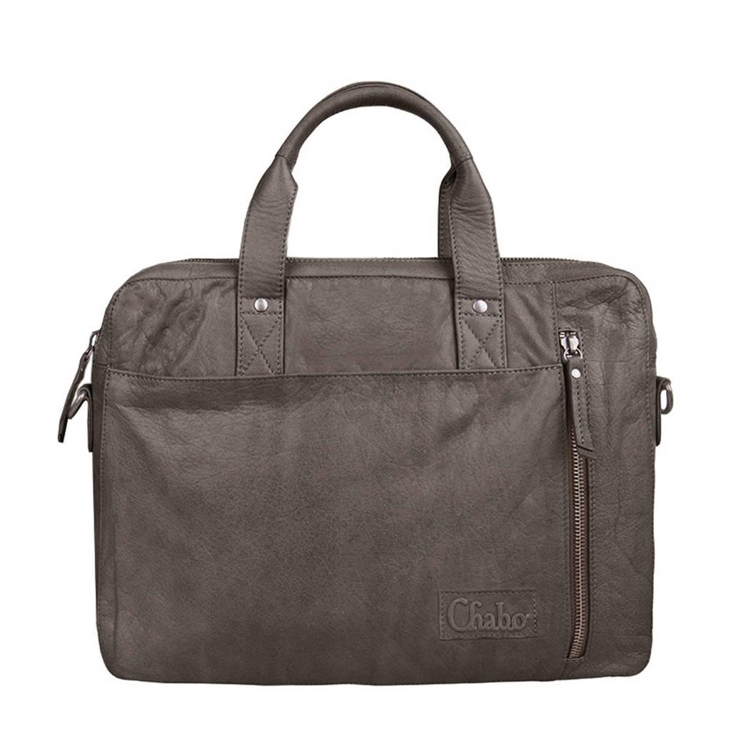 c21e9a9a6fa Chabo Bags 14 inch leren laptoptas Detroit Office   wehkamp