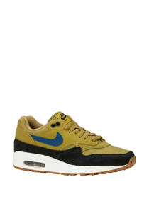 Nike Air Max 1 sneakers mosterd/zwart (heren)
