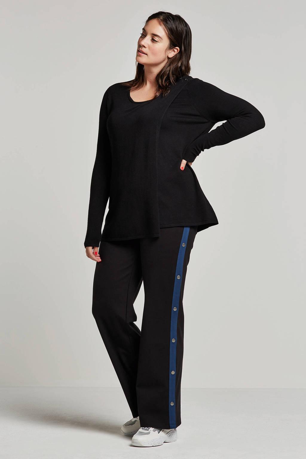 Zhenzi trui zwart, Zwart