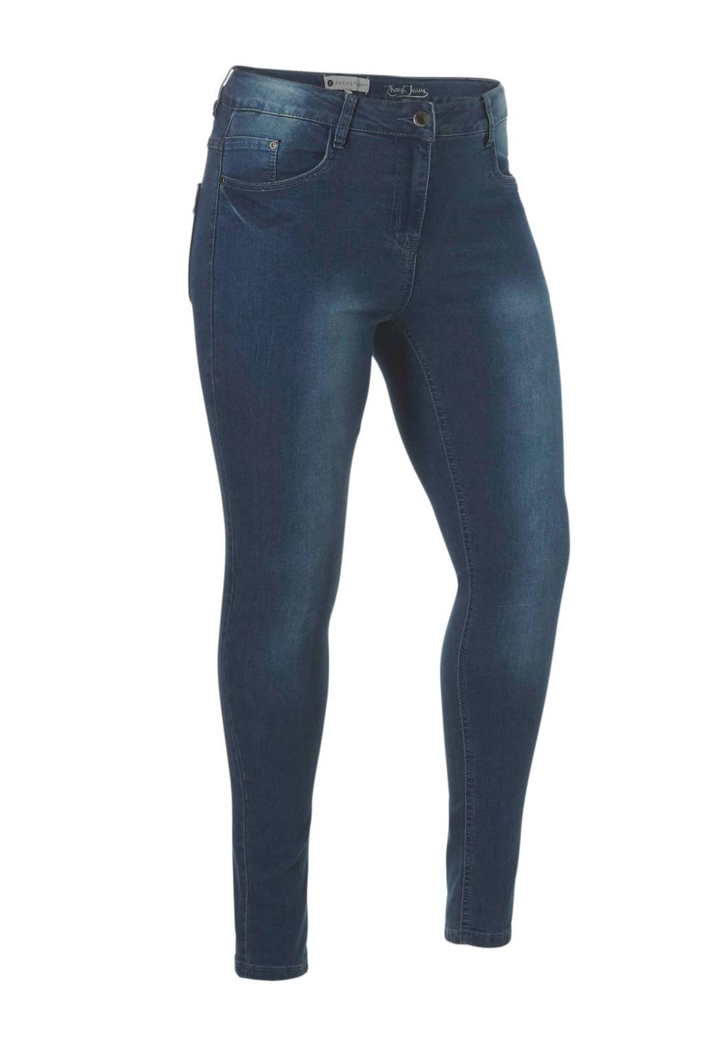 Zhenzi jeans skinny, Donkerblauw