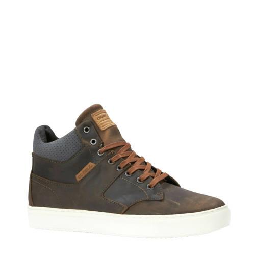 O'Neill leren sneakers bruin