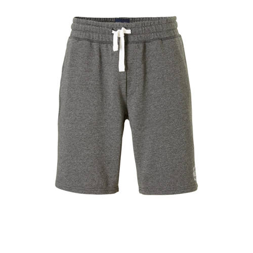 sweatshort antraciet
