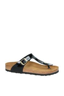 Birkenstock slippers Gizeh zwart