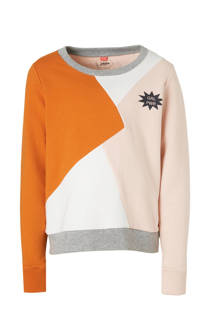 Little Miss Juliette sweater lichtroze (meisjes)
