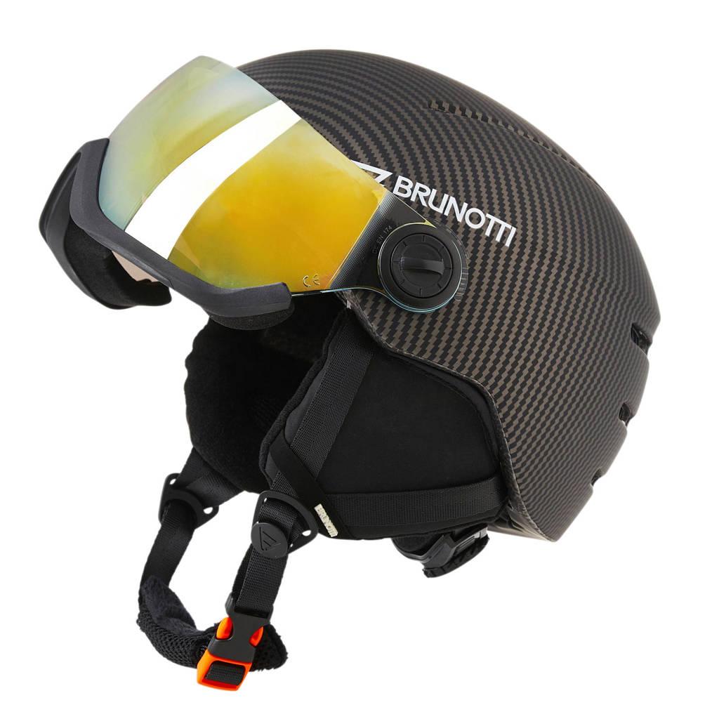 Brunotti skihelm Robotic AO 4 Unisex, Zwart/print